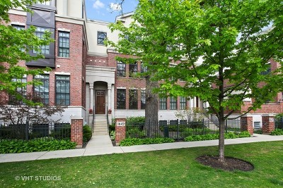 Highland Park Condo/Townhouse For Sale: 1649 Hickory Street #8