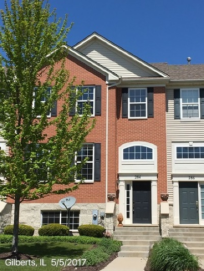 Gilberts Condo/Townhouse For Sale: 284 Jackson Street