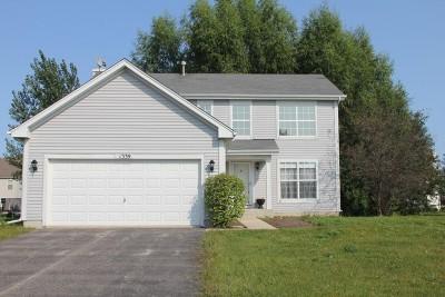 Round Lake Single Family Home Price Change: 1339 South Janice Lane