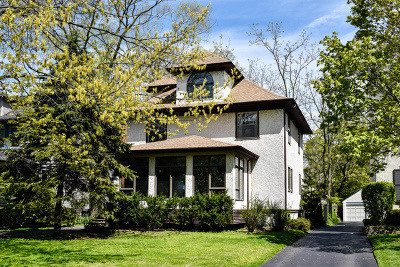 Wilmette Single Family Home For Sale: 1212 Elmwood Avenue