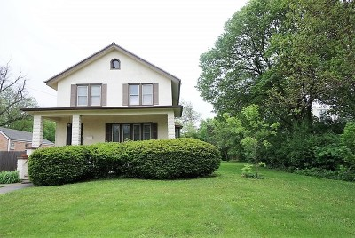 Lombard Single Family Home Contingent: 117 North Park Avenue