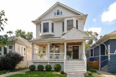 Oak Park Single Family Home Price Change: 837 North Taylor Avenue