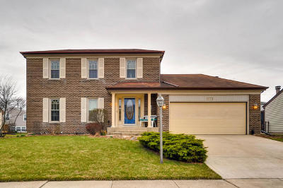 Roselle Single Family Home Contingent: 1175 Hygate Drive