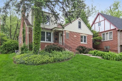 Clarendon Hills Single Family Home Contingent: 247 South Prospect Avenue