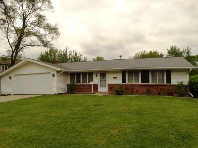 Schaumburg Single Family Home Price Change: 1526 West Wise Road