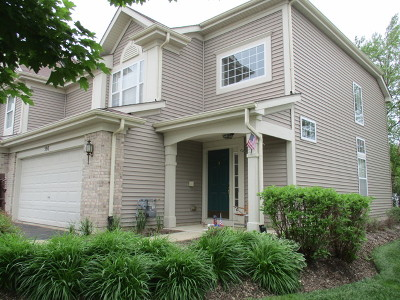 Pingree Grove Condo/Townhouse Contingent: 590 Yorkshire Lane