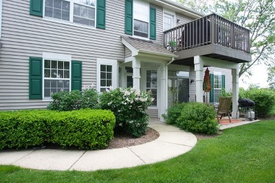 Algonquin IL Condo/Townhouse Closed: $132,500