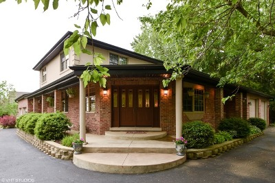 Lemont Single Family Home Price Change: 12s620 Hill Road