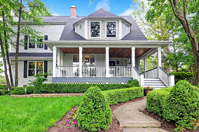 Hinsdale Single Family Home Contingent: 436 South Stough Street