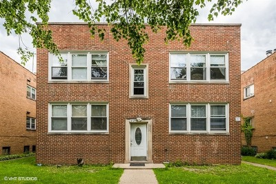 Skokie Multi Family Home Contingent: 8125 Kilpatrick Avenue