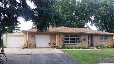 Aurora IL Single Family Home Re-Activated: $147,999