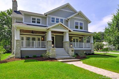 Glen Ellyn Single Family Home For Sale: 566 Newton Avenue