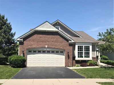 Hoffman Estates Single Family Home Re-Activated: 5884 Leeds Road