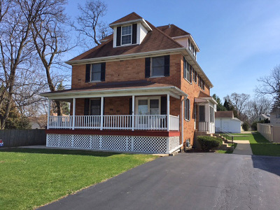 Glen Ellyn Single Family Home Contingent: 22w515 Emerson Avenue