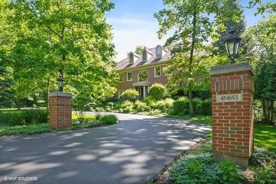 St. Charles Single Family Home For Sale: 4n653 Hidden Oaks Road