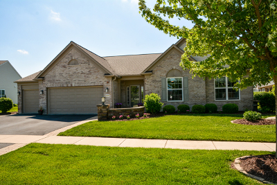 Huntley Single Family Home Contingent: 12712 Bluebell Avenue