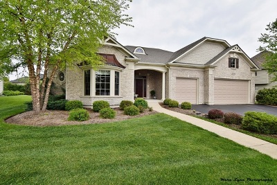 St. Charles Single Family Home For Sale: 40w802 Fox Creek Drive