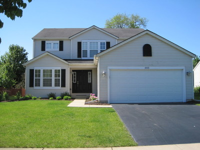 Romeoville Single Family Home Contingent: 383 Daffodil Drive