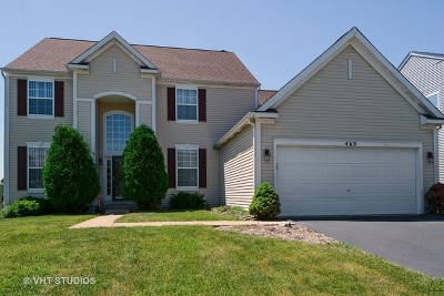 North Aurora Single Family Home For Sale: 469 Chesterfield Lane