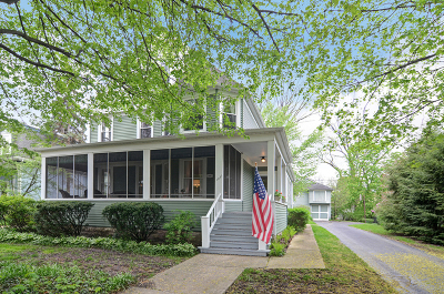 Western Springs Single Family Home Contingent: 4036 Grand Avenue