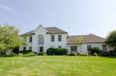 McHenry Single Family Home For Sale: 7706 Burr Oak Drive