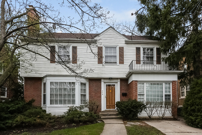 Wilmette Single Family Home For Sale: 229 Lawndale Street
