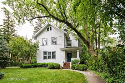 Highland Park Single Family Home For Sale: 1384 Linden Avenue