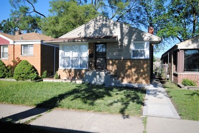 Calumet Park Single Family Home Contingent: 12515 South Justine Street
