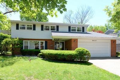 Wilmette Single Family Home For Sale: 2437 Cardinal Lane