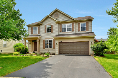 Bolingbrook Single Family Home Contingent: 784 Glenside Circle