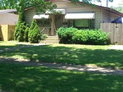 Posen Single Family Home For Sale: 14818 South Sacramento Avenue