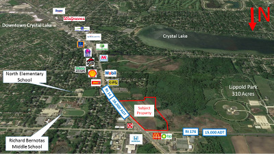Crystal Lake Residential Lots & Land For Sale: 180 North Virginia Street