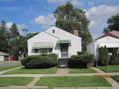 Calumet Park Single Family Home For Sale: 12401 South Aberdeen Street