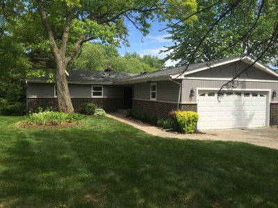McHenry Single Family Home Price Change: 28003 North Lakeview Circle