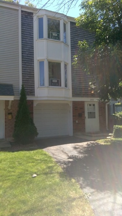 Hoffman Estates Condo/Townhouse For Sale: 1933 Williamsburg Drive