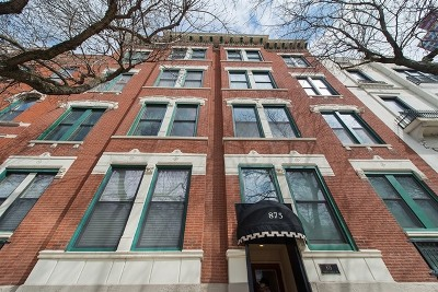 Chicago Condo/Townhouse Contingent: 875 North Lasalle Drive #3S