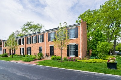 Wilmette Condo/Townhouse For Sale: 923 Westerfield Drive