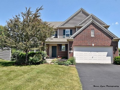 North Aurora Single Family Home Contingent: 2537 Moutray Lane