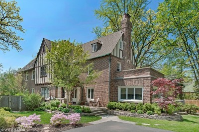 Winnetka Single Family Home For Sale: 1206 Tower Road