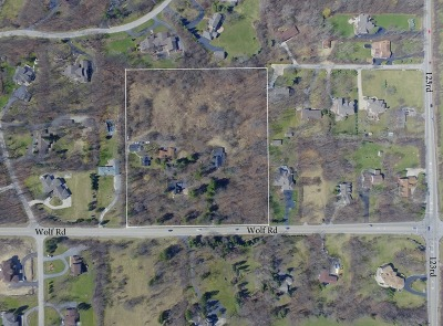 Residential Lots & Land New: 12424 South Wolf Road