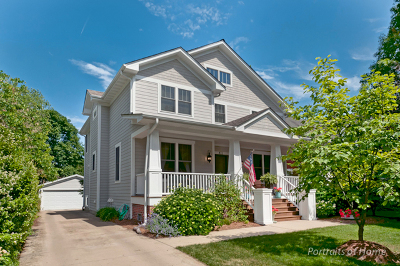 Wheaton Single Family Home For Sale: 811 Irving Avenue