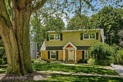 Lake Forest Single Family Home For Sale: 619 Highview Terrace