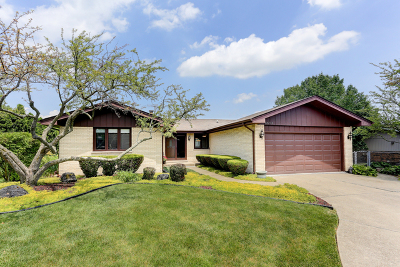 Orland Park Single Family Home Re-activated: 12238 Derby Lane