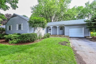 Cary Single Family Home Price Change: 136 Park Avenue