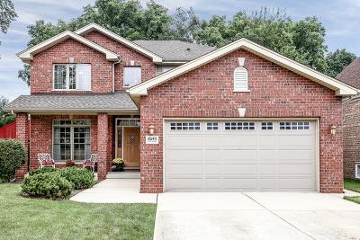 Evergreen Park Single Family Home Contingent: 10145 South Saint Louis Avenue