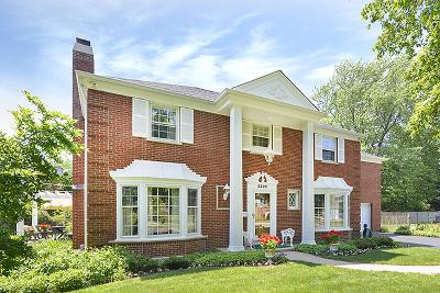 Wilmette Single Family Home Price Change: 2229 Crestview Lane