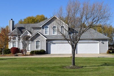 Oswego Single Family Home Price Change: 6239 Southfield Lane