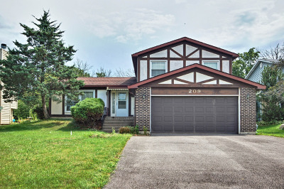 Bartlett Single Family Home Contingent: 209 South Park Place Drive