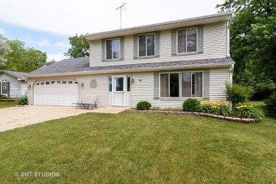 Roselle Single Family Home Contingent: 414 Winterwood Drive