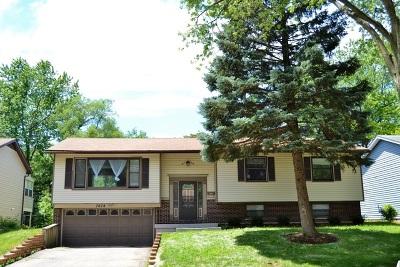 Hanover Park Single Family Home Contingent: 7078 Glenwood Lane